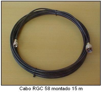 Cabo RGC 58 montado c/15m
